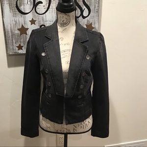 🆕list❗️Jessica Simpson Black Denim Jacket